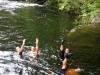 Yogi Synchronised Swimming Team - Holne Fun Ride - August 2012