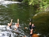 Yogi Synchronised Swimming Team - Holne Fun Ride - August 2012