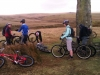 MTB Fun Ride - 03/03/12 - Quick repairs on the moor
