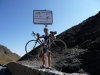 Steve on Top of Col du Tourmalet