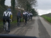 View from the Team Car