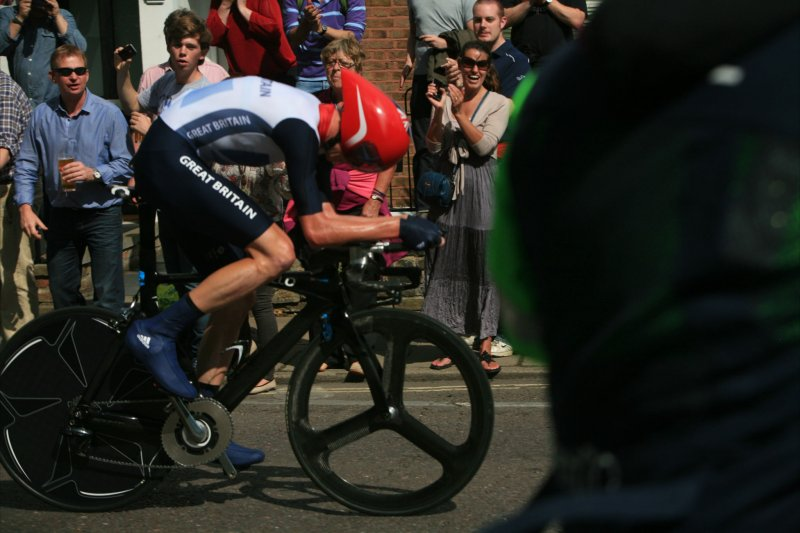 Chris Froome, Men's Cycling time trial, London Olympics 2012